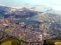 Aerial View of Port Talbot