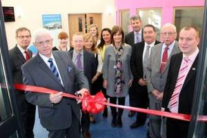 Croeserw Community Enterprise Centre Opening
