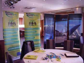 Neath port talbot meet the contractor event with Dawnus construction