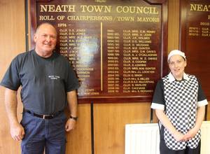 Two years and counting at Neath Town Council.